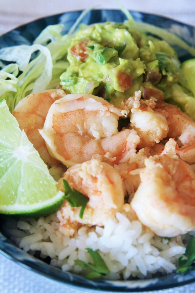 garlic-shrimp-cilantro-lime-rice-bowl-1