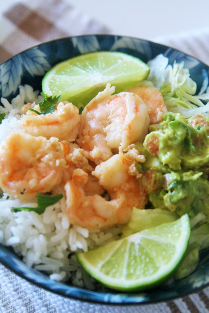 garlic-shrimp-cilantro-lime-rice-bowl-3