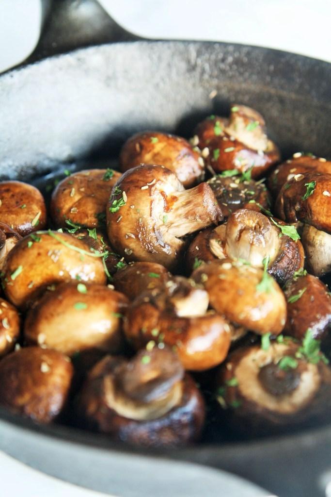 Steakhouse Sauteed Mushrooms The Tasty Bite