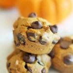 Skinny Pumpkin Chocolate Chip Muffins