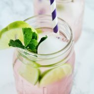 Blackberry Lime Fizz