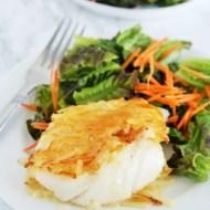 Potato Crusted Cod