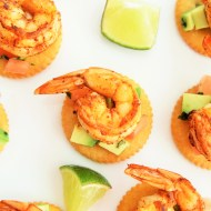Spicy Shrimp and Avocado Salsa Bites