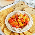 Bruschetta White Bean Dip
