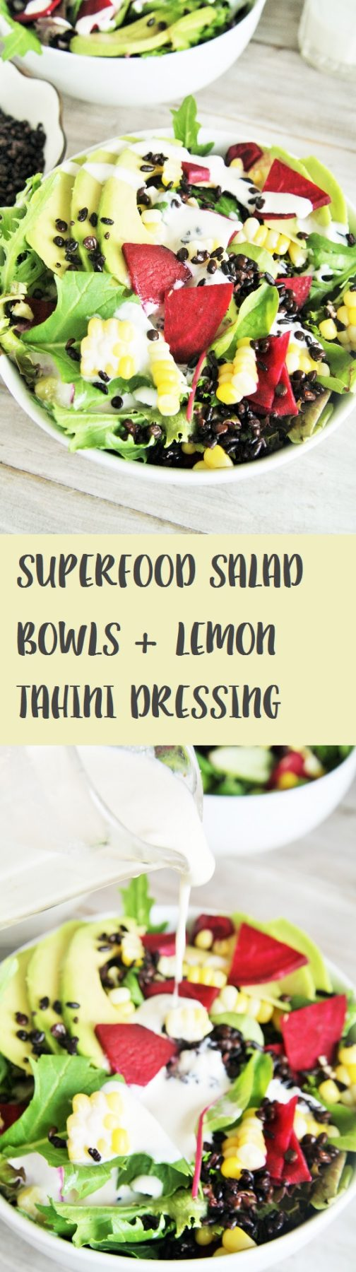 this delicious salad is loaded with superfood ingredients such as avocado corn beets - Salad Bowls