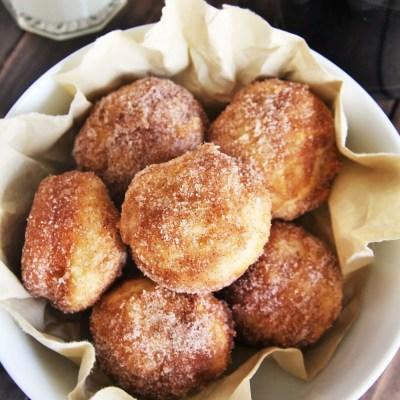 Churros Mini Muffin Bites