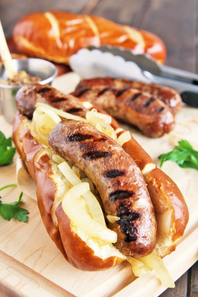 Making sausages at home is easier than you'd think! These savory and spicy Thai Red Curry Sausages are full of delicious flavors - try it for your next cookout or tailgating party.