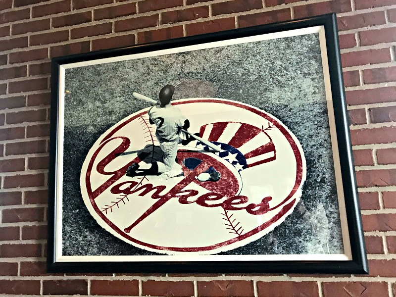 Mickey Mantle;s decor