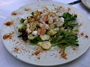 Mickey Mantle's seafood salad
