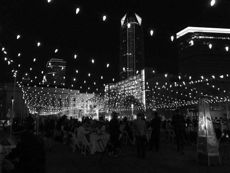 Starlight Supper black and white