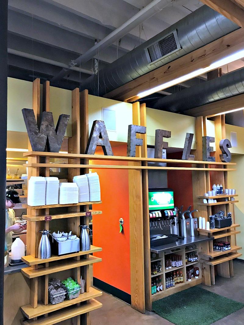 Waffles decor