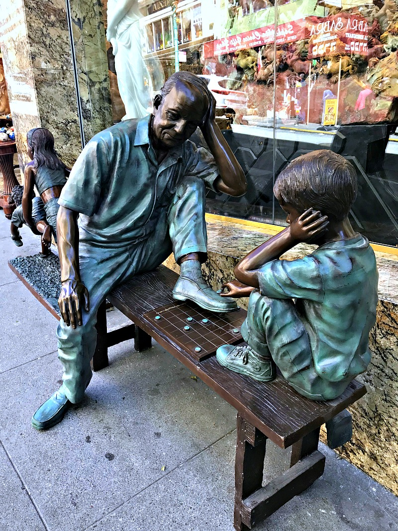 Chinatown sculptures