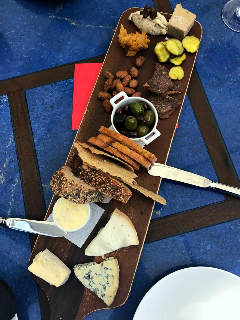 Ram's Gate cheese board