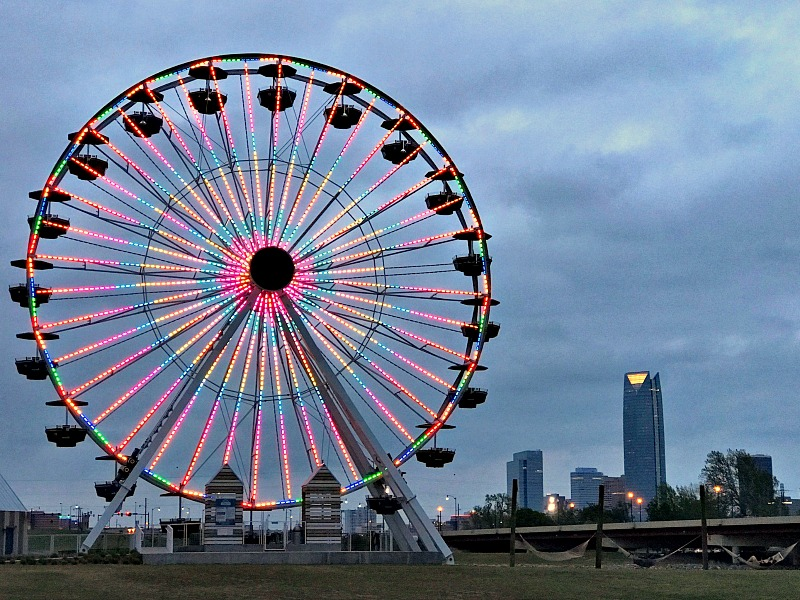 Wheeler District Ferris Wheel
