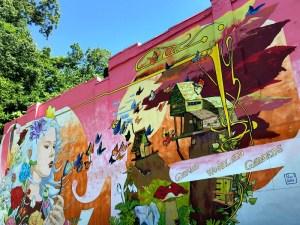Gardens mural
