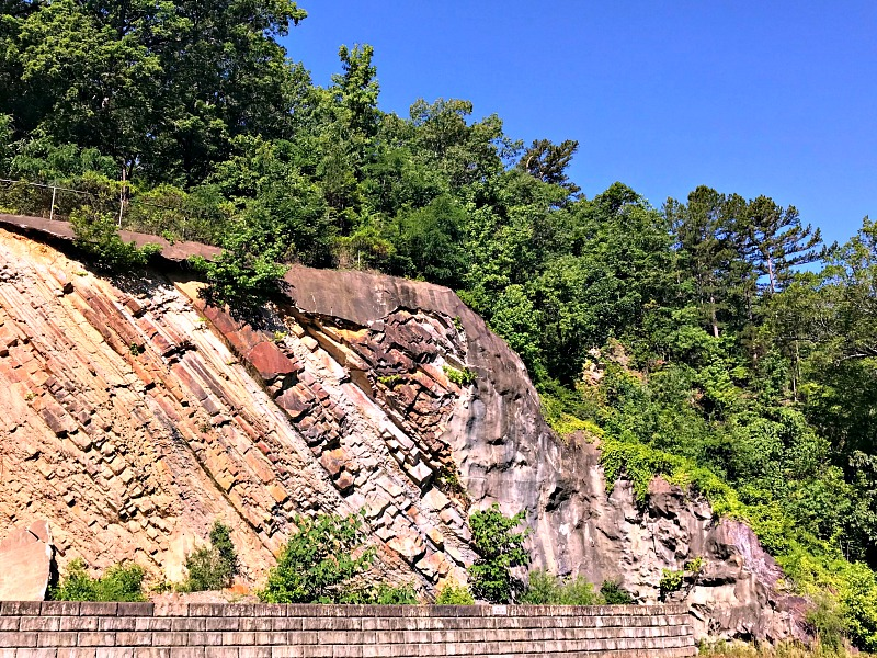 Hot Springs rock formations