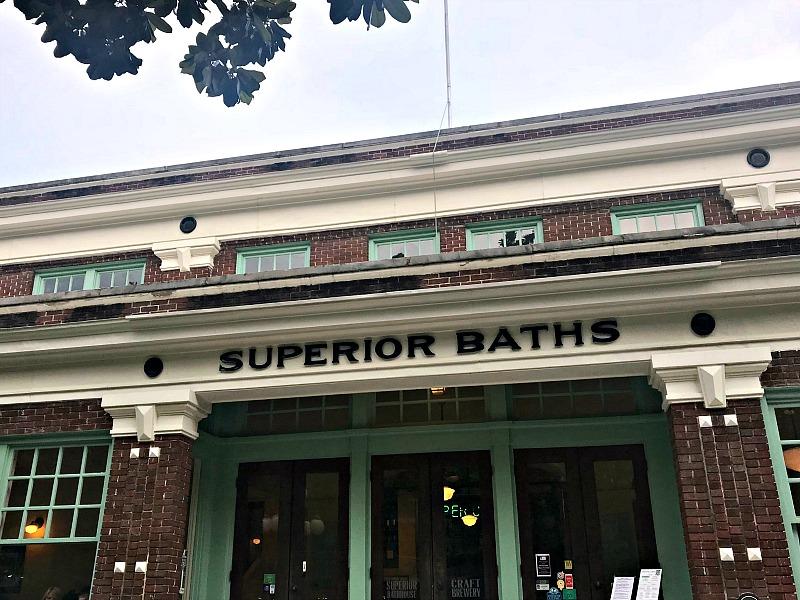 Superior Baths building