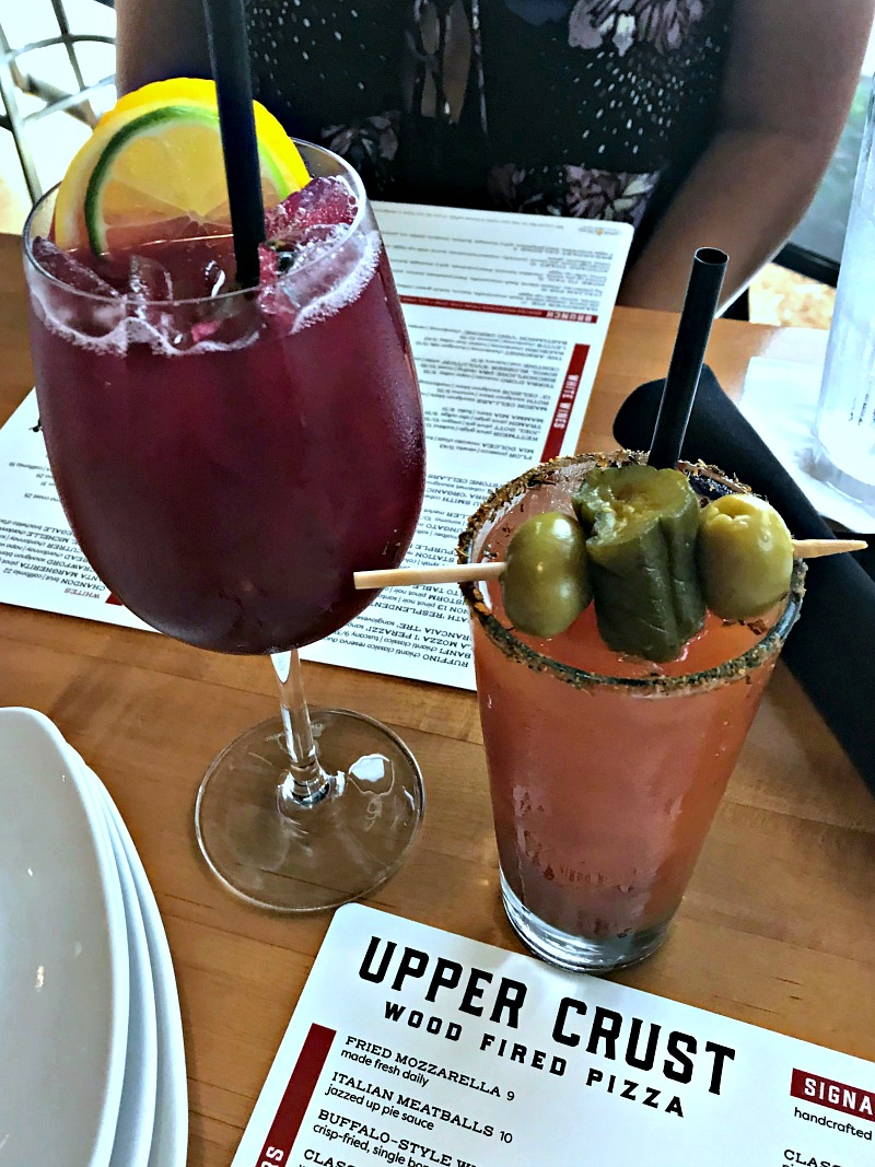 Upper Crust brunch cocktails
