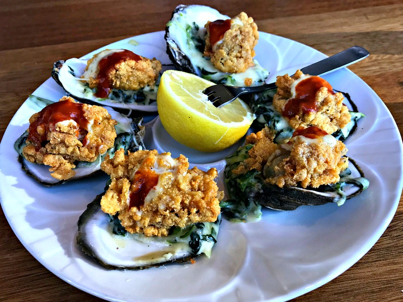 oysters St. Charles