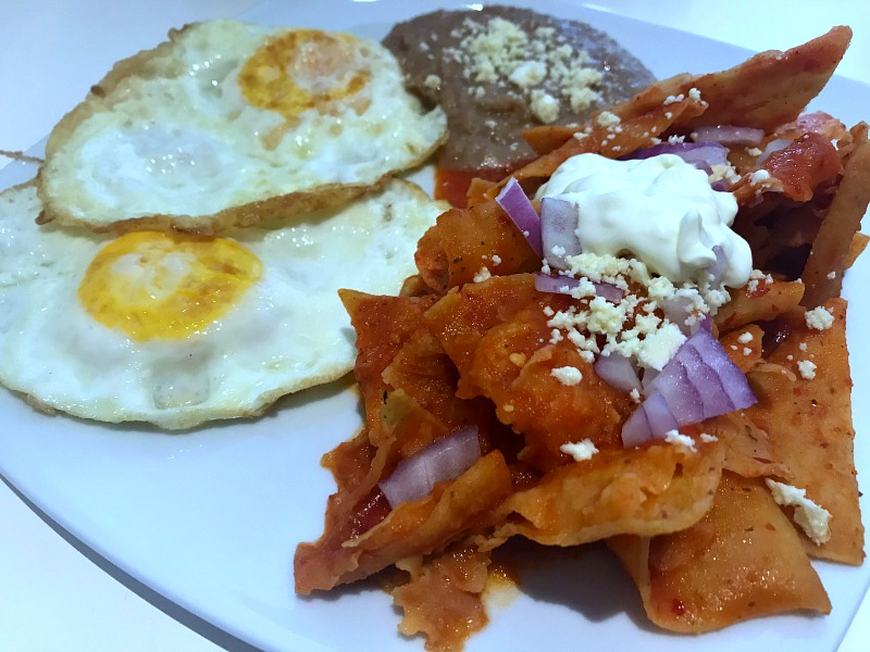 The Coffee Cup chilaquiles