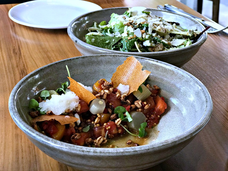 District Winery summer salads