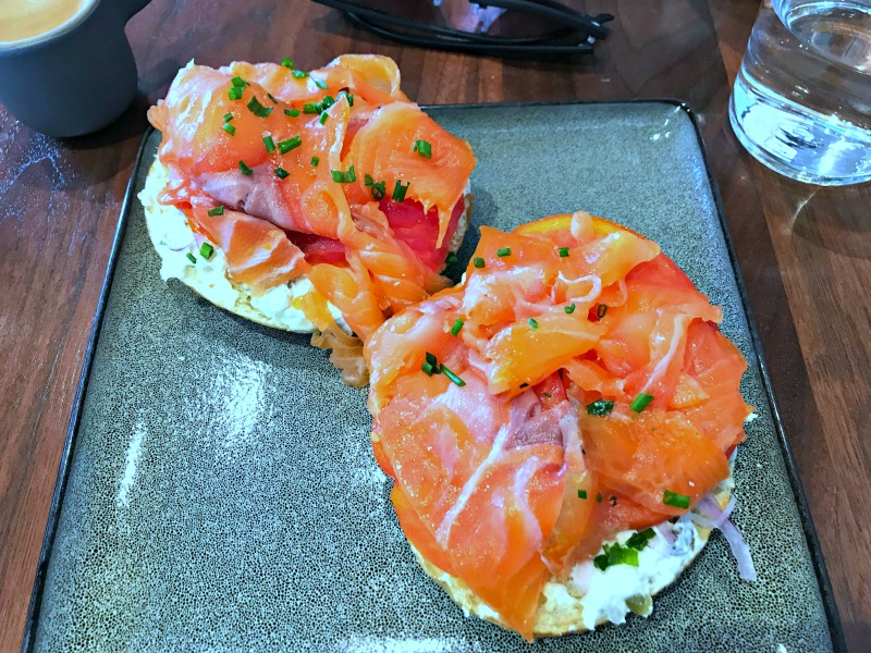 Slipstream lox bagel