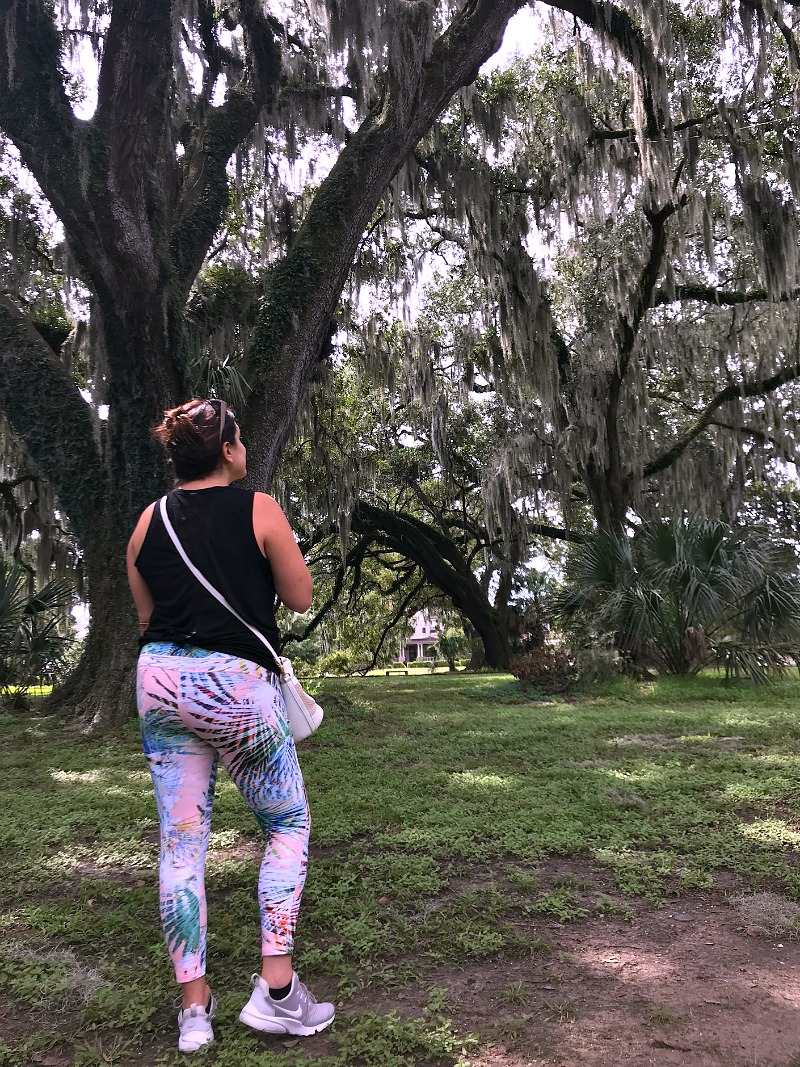 a walk in New Orleans City Park
