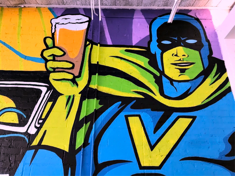 Vanessa House mural