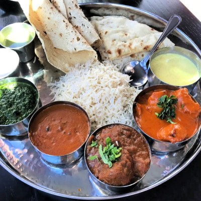 Lunch at Pappe DC: Thali It Up