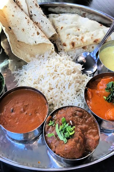 Pappe thali platter