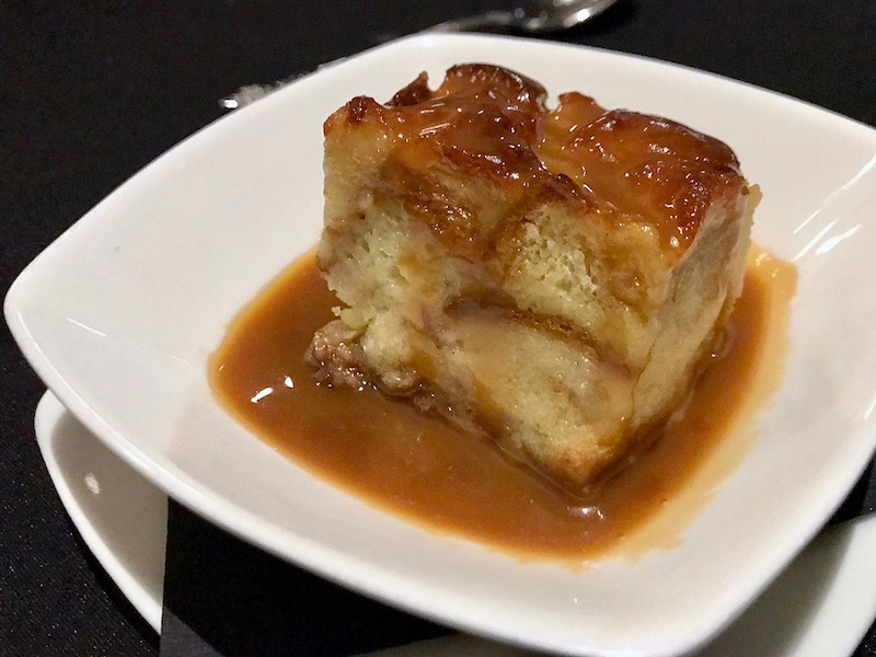 Union Wood Fired Grill bread pudding