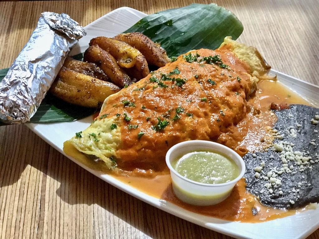 Cafe Kacao omelette ranchero