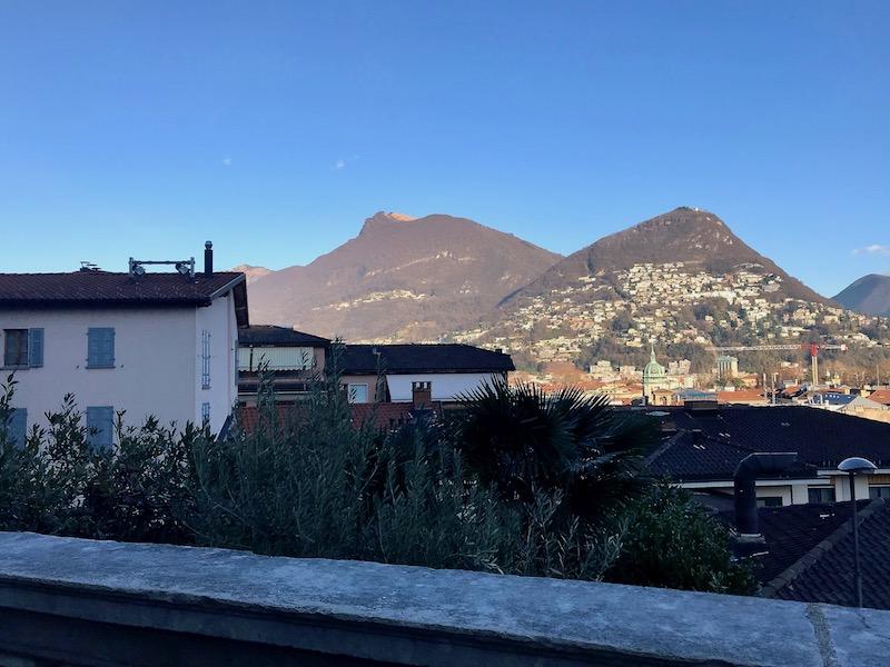 views in Lugano