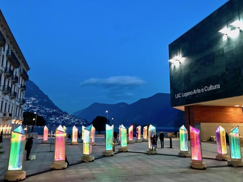 LAC Lugano light installation