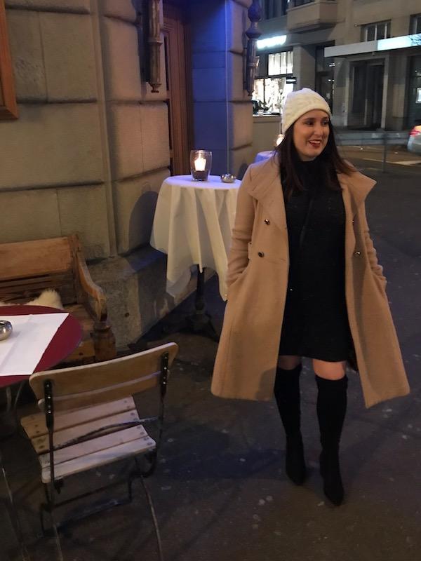 first night in Switzerland