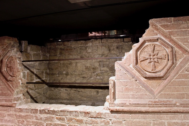 Florence Cathedral Crypt