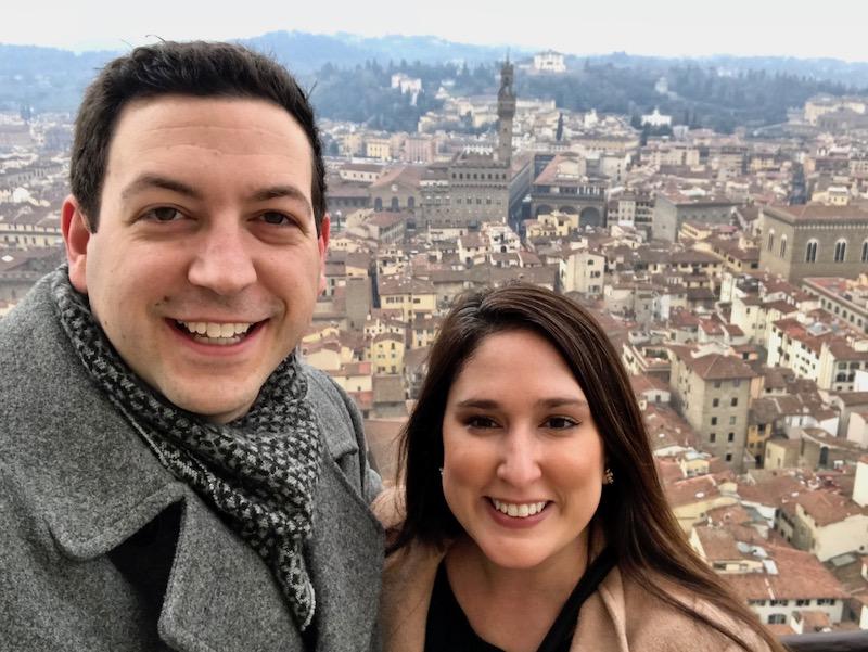 Duomo selfie