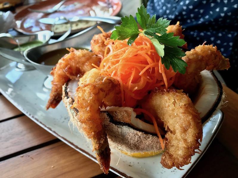 Fred's House coconut shrimp