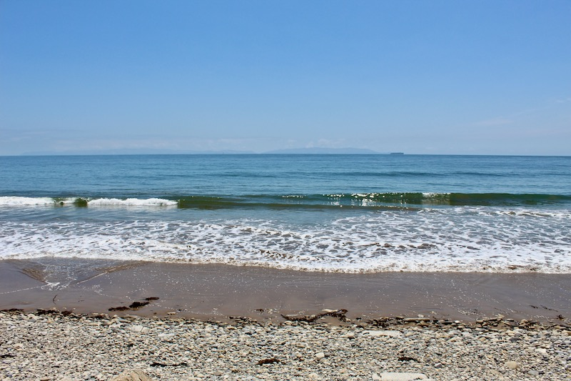 Abalone Cove sandy beach
