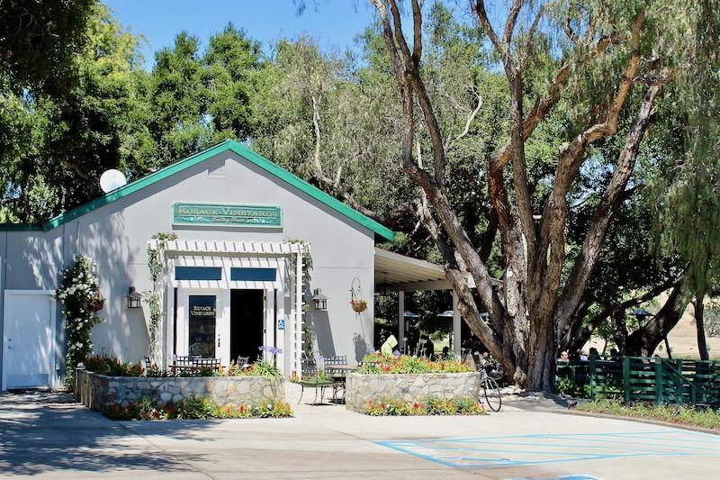 Rusack Vineyards tasting room in Santa Barbara County