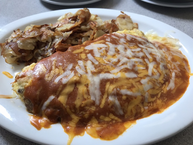 omelette at pacific diner san pedro
