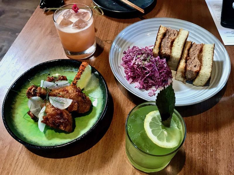 Gun Izakaya snacks and cocktails