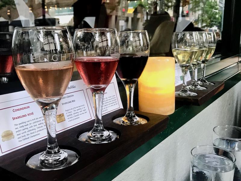 Flight Restaurant Memphis - wine flight
