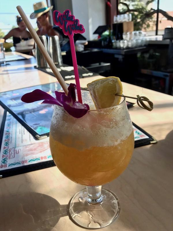 Wiki Wiki Sandbar cocktail