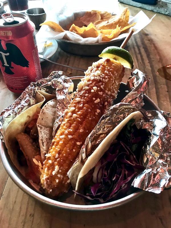 elotes at Taco Boy