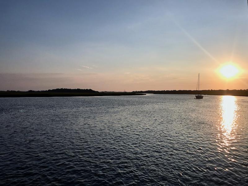 sunset Dolphin eco-tour Charleston Outdoor Adventures