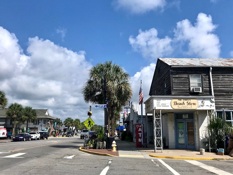 Downtown Folly Beach