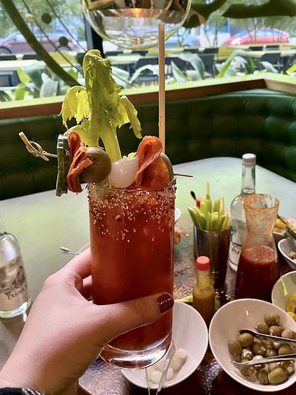 Bar Cicchetti Bloody Mary Bar