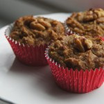Delicious & healthy paleo banana walnut muffins