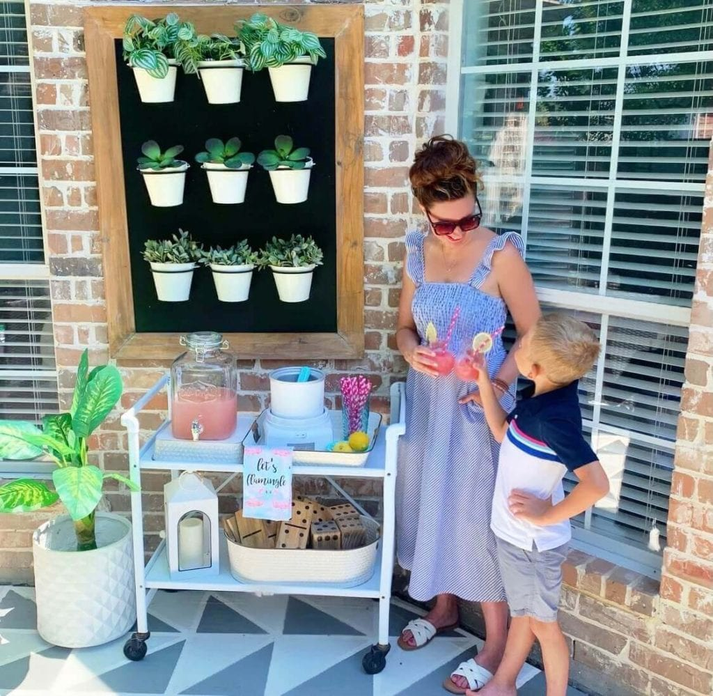 Welcome Home Saturday: Summer Slushees in the Ice Cream Maker